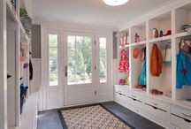 Home: Mud Rooms / Quite easily the most important room in the house! / by Colleen Mooney-Gallagher