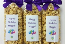 Popcorn Birthday Favors / by Popsations Popcorn Company