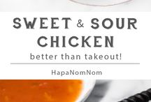 Delicious Take-out Meals at Home / No need for take out when you can make your favourite dishes at home!