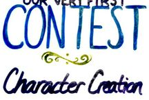 We Are Writers Contest #1: Character Creation