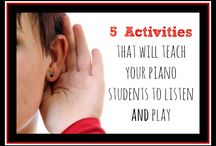 Piano Teaching / by Jennifer Jones