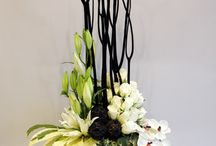 Kitchen flower arrangement