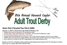 Texas Trout Derbies