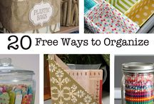 General Organizing / Great tips to get your whole house more organized!