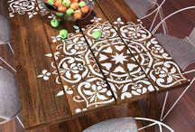 Mesa/decoração