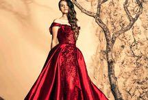 rode jurken