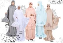 Mukena / mukena all time, a new look and comfortable