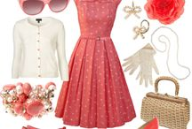 Vintage Style / This is all kinds of vintage inspired style.