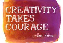 Creative Inspiration / Inspiration that let's us get creative!