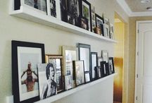 picture wall shelving
