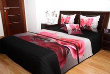Narzuty 3D na łóżko
