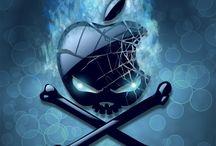 Apple Iphone Skull