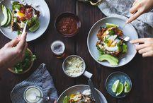 Food Photography - Table Setting