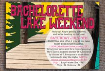 Bachelorette Party Ideas / Lots of fun ways to have fun with your bachelorette party at the lake!   #LakeoftheOzarks  #Weddings  #bacheloretteparty