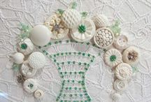 shabby chic button