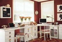 Office and Storage / by Andrea Rowley