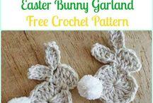 EasterCrochet bunny