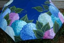 paraguas pintados