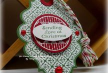 JustRite Tag Inspiration / Use JustRite Stamps to create a custom tag for gift giving projects