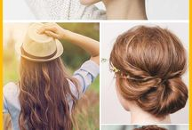 Hair tips & tricks / Everything you need to know to have gorgeous hair!