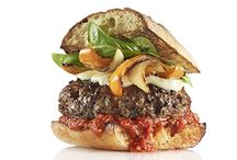 Hung burger