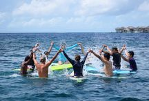 Surf's Up! with Tropic Surf / Have the waves to yourself at our nearby reef breaks. For the experienced surfers, catch big swells at the famous Yin Yang, and for the beginners, try your balance in a lesson