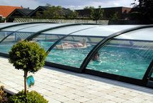 Pool Covers - Enclosures / Retractable pool covers for environment friendly people.