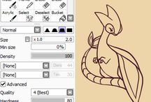Art tutorials
