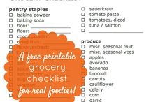 Grocery Checklists