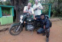 Royal Enfield Sri Lanka Tours. / Royal Enfield motorcycle tours in Sri Lanka with Dayan Chinthaka of Ceylontusker Tours.
