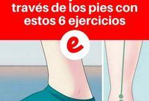 ejercicios para los pies