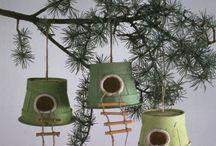 nid pour oiseaux