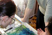MALBA NA HEDVÁBÍ (Silk Painting) / Výtvarné potřeby a kurzy