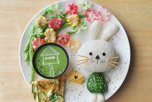 Детская еда- арт