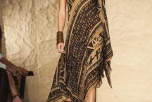 Dress to Impress / A fusion of Western and Eastern fashion I like