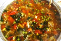 Healthy soups / ~Yummy and nourishing soups~
