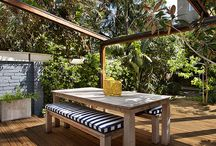 Premier Decking at Lowe's / Beauty shots of our patterned and grooved real wood decks.