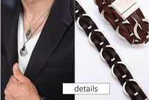 Men's Accessories / Men's accessory fix. These details add the perfect balance of texture and polish.