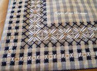 pötikare / chicken stratch embroidery