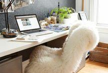 Arbeitsplatz ★ Home Office ★ Workingspaces / Da wo Du arbeitest, solltest Du Dich wohlfühlen. Hier findest Du Ideen für einen schönen Arbeitsplatz.