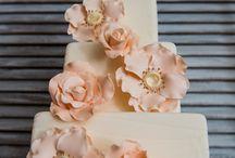 Peach Weddings  / Peach wedding dresses, accessories, and jewelry