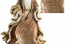 Home Decor Figurine Statues / Decorate your home with these beautiful religious figurine statues or give as a gift .
