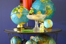 Globes / How to decorate with globes
