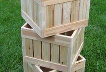 wooden krates