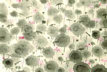 Chinese brush painting / by Elizabeth Yu