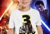 star wars birthday custom tshirt