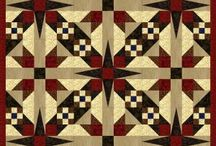 quilt ideas and color schemes / by Eddie Heil