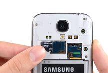 Montering av Samsung Galaxy S4 microSD-kort