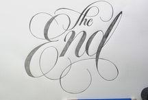 design: hand lettering / Hand lettering