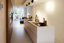 Gerealiseerd keuken-interieur project
